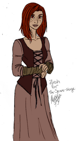Collab: Zorah by The-Serene-Mage