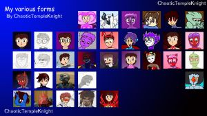 My forms chart by ChaoticTempleKnight
