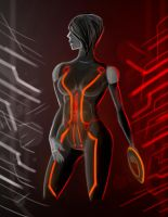 TRON: Uprising - Paige [PRACTICE] by FotusKnight