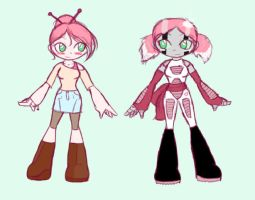 :Sketch: Jinmay Redesign by Forever-n-Never