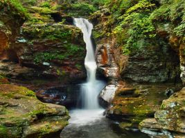 Ricketts Glen State Park 95 by Dracoart-Stock
