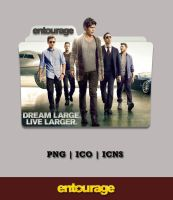 Entourage Movie Folder Icon (2015) by Bl4CKSL4YER