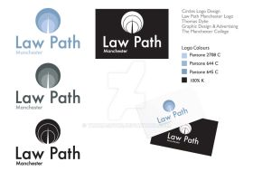 Law Path Manchester Logo Design 4 by thomasdyke