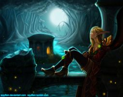 Warcraft: Ghostlands by Soulfein