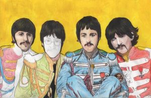The Beatles - WIP 1 by Menco