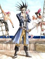 11th Division Pirates by GoldeenHerself