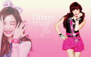 Tiffany Hwang Simple Wallpaper by raspberrishxiu