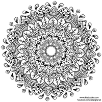 Krita Mandala 51 by WelshPixie