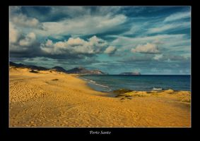 Beach of Porto Santo, Portugal by globetrotter85