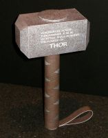 Marvel Mjolnir Papercraft by Tektonten