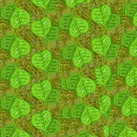 Leaves and Water Green version by julXart