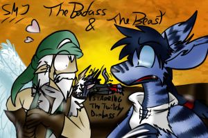 The badass and the beast by SandraMJ