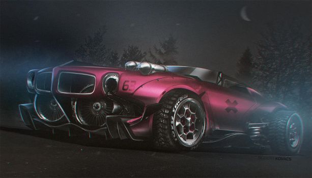 Pontiac Firebird by roobi