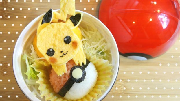 Pikachu bento box tutorial by minicuteclub