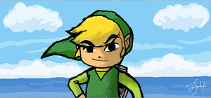 Link by the sea by ashrel