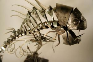 Scrap Metal Fishy - 6 by Devin-Francisco