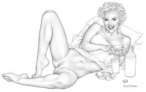 Marilyn by MarkBlanton