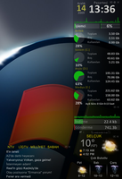 Rainmeter RSS, Weather.... by hyilmaz4641