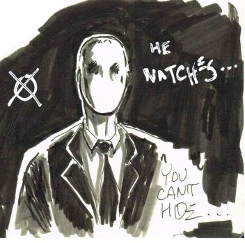 Kurt and the Slender Man- i should have known by TheConsultingArtist1
