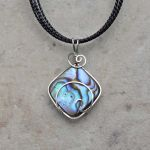 Sterling Silver and Paua Wave Wrap by magpie-poet