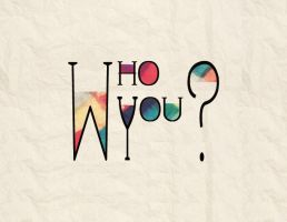 WHO YOU TYPOGRAPHIC BY ERIOL JAN by Eriol-Diggory-Art
