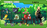 Laura's trainer card C: by bright-as-a-button