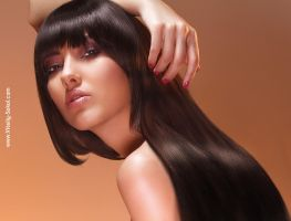Diana  (and hair retouch lesson - youtube) by Vitaly-Sokol