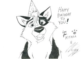 My HAPPY BIRTHDAY greeting card by MortenEng21
