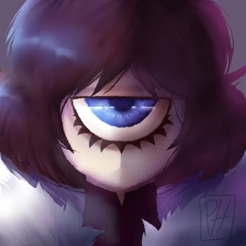[One eye] by Pandora-Honeyy-Kun