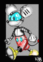 Mecha Mickey Mouse by Koku-chan