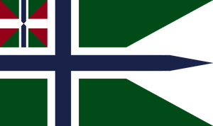 Naval Ensign And War Flag of Arendelle by otakumilitia