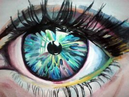 eye by Uliana-Nana