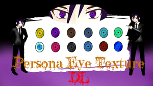 MMD: Persona Eyes :Request: by xxDraconikaxx