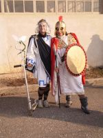 Hermes and Athenes by FreakyPhoto