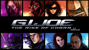 G.I. Joe:The Rise of Cobra by PYdiyudie