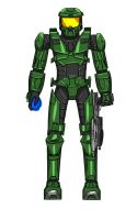 Master Chief by Ohanzee