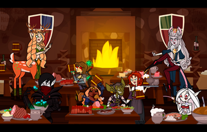 Collab. Tavern by Chizu-PS