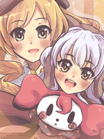 MSMM Mami and Nagisa(Charlotte) by Rintanuu