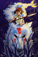 Mononoke by CrimsonSword03
