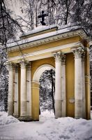 Holy Gate in Arkhangelskoye by Lyutik966