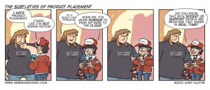 Nerd Rage - The Subtleties of Product Placement by AndyKluthe