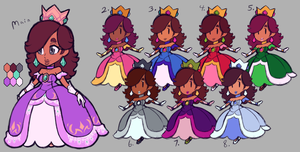 SSB ~ Chelise ~ Patterns n' Palettes! by Castle-Sass