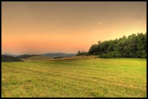 after sunset near Chuderovec by Pildik