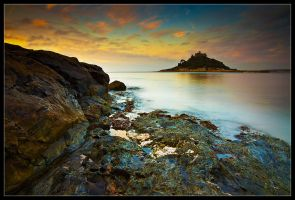 St Michaels Mount - Gold by Wivelrod