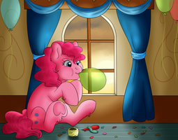 Pinkie Pie Bronycon by RoolosDoodleDen