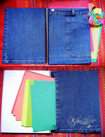 Recycled Notebook by Ady-MUM