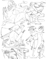 Sketch page - Araktugage by TornTethers