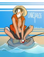 Monkey D Luffy by MonkeyMonk14