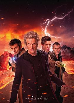 Doctor Who - Free Comic Book Day 2017 by willbrooks
