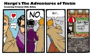 Tintin - Window Shopping by crusanite